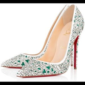 ISO So Pretty Silver 100mm Heels Size 40